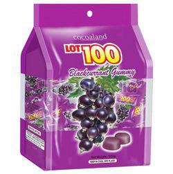Lot 100 Gummy Blackcurrant 320gm