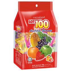 Lot 100 Gummy Assorted 150gm