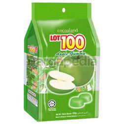 Lot 100 Gummy Apple 150gm