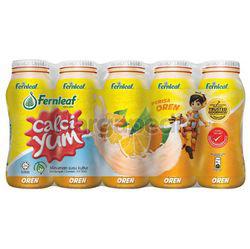 Calci Yum Cultured Milk Orange 5x110ml