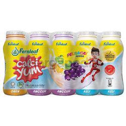 Calci Yum Cultured Milk Assorted 5x110ml