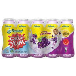 Calci Yum Cultured Milk Grape 5x110ml