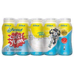 Calci Yum Cultured Milk Natural 5x110ml