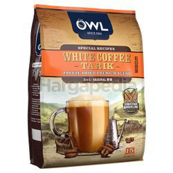 Owl 3in1 White Coffee Tarik Original 15x36gm
