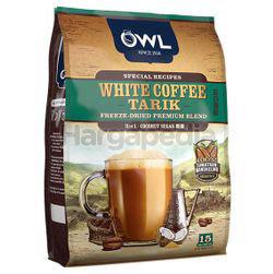 Owl 3in1 White Coffee Tarik Coconut Sugar 15x36gm