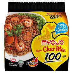 Myojo Ramen Char Mee 100 Spicy 5x75gm