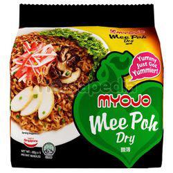 Myojo Mee Poh Dry Noodle 5x80gm