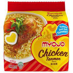 Myojo Chicken Tanmen Noodle 5x79gm