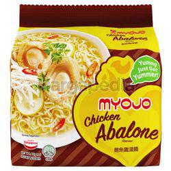 Myojo Chicken Abalone Noodle 5x79gm