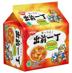 Nissin Instant Noodle Spicy Sesame 5x82gm