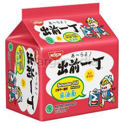 Nissin Instant Noodle Sesame Oil 5x81gm