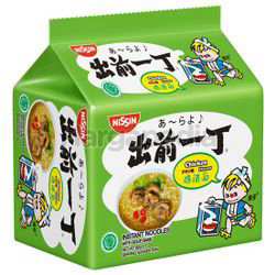 Nissin Instant Noodle Chicken 5x82gm