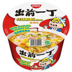 Nissin Bowl Noodle Sesame Oil 110gm