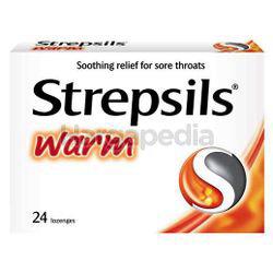 Strepsils Warm Lozenge 24s