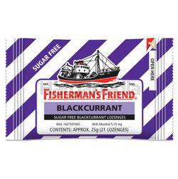 Fisherman's Friend Sugar Free Blackcurrant Lozenges 25gm