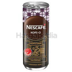 Nescafe Can Kopi O 240ml