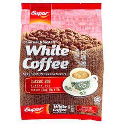 Super Charcoal Roasted White Coffee Classic 15x30gm