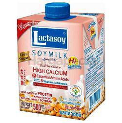 Lactasoy Soy Milk Hi Calcium 500ml