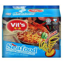 Vit's Instant Noodle Toink Seafood 5x78gm