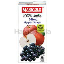Marigold 100% Juice Mixed Apple Grape 1lit