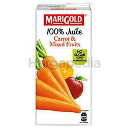 Marigold 100% Juice Carrot & Mixed Fruits 1lit