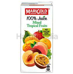 Marigold 100% Juice Mixed Tropical Fruits 1lit