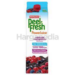 Marigold Peel Fresh Power Juice Mixed Power Berries Juice 1lit