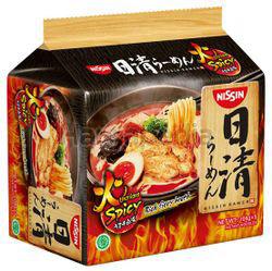 Nissin Japanese Ramen Uma Kara Spicy 5x106gm