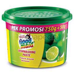 Goodmaid Dishwashing Paste Lime 750gm Extra 50gm