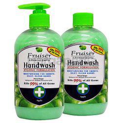 Fruiser Moisturising Hand Wash Apple 2x500ml