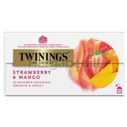 Twinings Strawberry & Mango Tea Bags 25x2gm