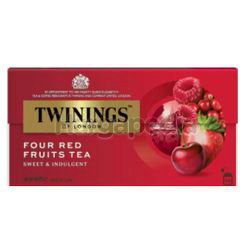 Twinings Four Red Fruits Tea Bags 25x2gm
