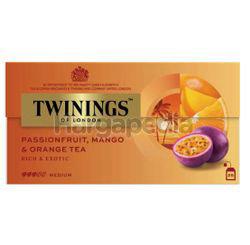 Twinings Passionfruit, Mango & Orange Tea Bags 25x2gm