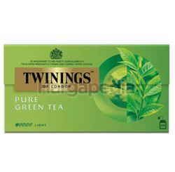 Twinings Pure Green Tea Bags 25x2gm