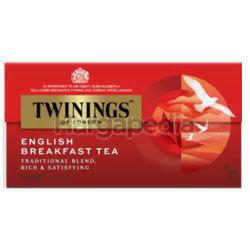 Twinings English Breakfast Tea Bags 25x2gm