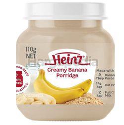Heinz Creamy Banana Porridge Baby Food 110gm