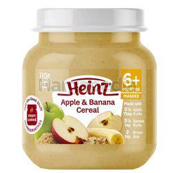 Heinz Apple & Banana Cereal Baby Food 110gm