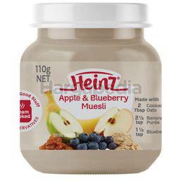 Heinz Apple & Blueberry Muesli Baby Food 110gm
