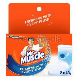 Mr Muscle Bloo Cleaner 2x40gm