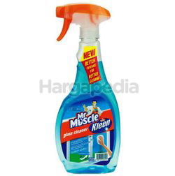 Mr Muscle Kiwi Kleen Glass Cleaner Super Active 500ml