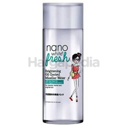Nano White Fresh Brightening Oil Control Micellar Water 200ml