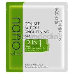 Nano White Double Action Brightening Mask 22ml