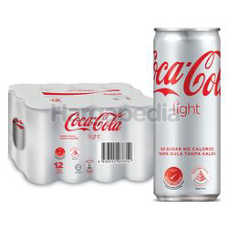 Coca-Cola Light Can 12x320ml