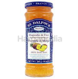 St Dalfour Pineapple & Mango Jam 284gm
