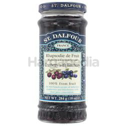 St Dalfour Cranberry with Blueberry Jam 284gm