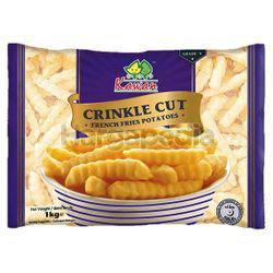Kawan Crinkle Cut French Fries 1kg