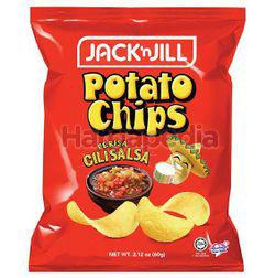 Jack N Jill Potato Chips Cili Salsa 60gm