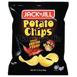 Jack N Jill Potato Chips Extra Spicy 60gm