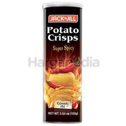 Jack N Jill Potato Crisps Super Spicy 160gm