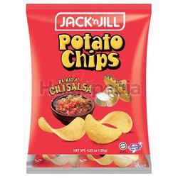 Jack N Jill Potato Chips Cili Salsa 8x15gm